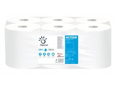 ARPI-407558 - Rolnis kéztörlő maxi, fehér, 2rétegű, cellulóz, 105m, 6tekercs, automata adagolóba, TAD - - kétrétegű, fehér, perforált - kiváló nedvszívó képesség, nagy szakítószilárdság - alapanyag: cellulóz