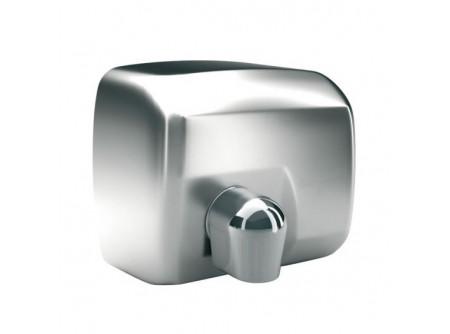 E88SP - SANIFLOW kézszárító, rozsdamentes, szálcsiszolt, 2250W - - teljesítmény: 2250W - behatolás elleni védelem: IP23 - levegő hőmérséklet: 53 °C - szárítási idő: 29 s - infravezérlés, automatikus be-és kikapcsolás - 2 mm. vastag acélház - állítható levegőáramlás a forgatható könyökkel - rozsdamentes, szálcsiszolt kivitel