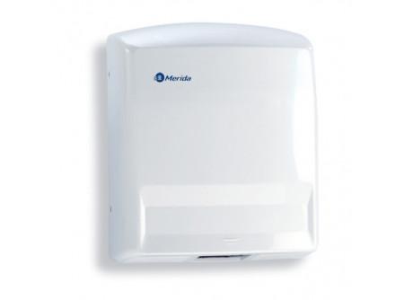 M88AP - JUNIOR kézszárító, ABS műanyag, fehér, 1650W - - teljesítmény: 1650W - levegő hőmérséklet: 57 °C - kézszárítás ideje: 40 sec - behatolás elleni védelem: IP23 - 3 mm-es ABS műanyagból készült, ütésálló ház - infravezérlés, automatikus be-és kikapcsolás - fehér színben