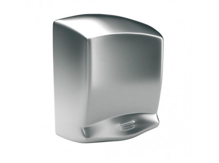 M99S - OPTIMA kézszárító, rozsdamentes, szálcsiszolt, 1640W - - teljesítmény: 1640W - levegő hőmérséklet: 57 °C - kézszárítás ideje: 40 sec - behatolás elleni védelem: IP21 - infravezérlés, automatikus be-és kikapcsolás - 1,5 mm vastag acélház szálcsiszolt kivitel