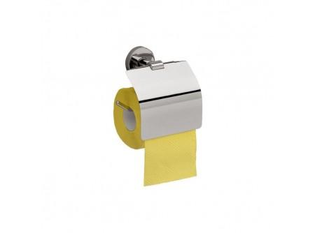 MHA01 - Toalettpapír tartó, krómozott réz háztartási/hotel - – krómozott fém szerkezet – esztétikus, otthoni/hotel használatra