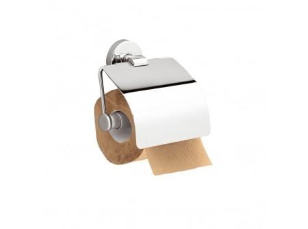 MHA02 - Toalettpapír tartó, krómozott réz, háztartási/hotel - – krómozott fém szerkezet – esztétikus, otthoni/hotel használatra