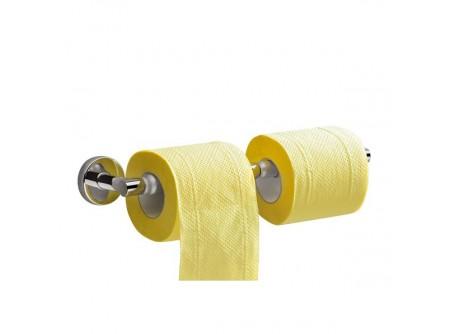 MHA04 - Toalettpapír tartó, krómozott réz, háztartási/hotel - – krómozott fém szerkezet – esztétikus, otthoni/hotel használatra