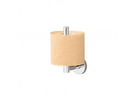 MHA05 - Toalettpapír tartó, krómozott réz, háztartási/hotel, tartalék tekercshez - – krómozott fém szerkezet – esztétikus, otthoni/hotel használatra