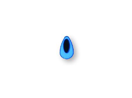MOD.SZEM/KÉK - Kék szem MODULAR szappanadagolókhoz - Régi cikkszám: 29-MOD.SZEM/KÉK