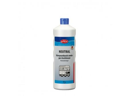 neutral-1 - Ph semleges tisztítószer, 1L - Vízálló felületek univerzális tisztítószere. Rövid hatóidejû zsíroldó hatás, anyagkímélõ. Tisztítja a kényes munkafelületeket, készülékeket, asztalokat, ajtókat, mûanyagokat, csempéket, bõrkárpitot stb.  • különösen bõrbarát - pH-semleges • friss illat
