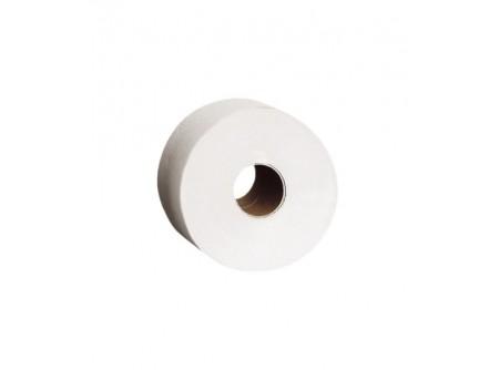 PKB202 - Toalettpapír mini, fehér, 1rétegű, 220m, 12tekercs - - egyrétegű, fehér - alapanyag: recycled