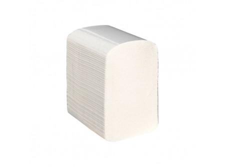 POB402 - Hajtogatott toalettpapír, 2rétegű, 9000lap - - kétrétegű, fehér, perforált - alapanyag: recycled