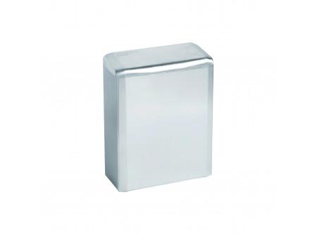PP0006C - KIFUTÓ Intim hulladékgyűjtő, 6L-es falraszerelhető, Rozsdamentes,  Polírozott - – űrtartalom: 6 liter – polírozott, falra szerelhető, fedeles kivitel