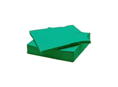 SCA-18344/cs - KIFUTÓ Szalvéta, ZÖLD, 3rétegű, 33x33cm, 250lap - - háromrétegű, zöld - alapanyag: cellulóz