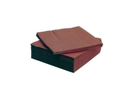 SCA-478795/cs - KIFUTÓ Szalvéta, KAKAÓ, 2rétegű, 39x38cm, 50lap, DINNER - - kétrétegű, kakaóbarna - alapanyag: cellulóz
