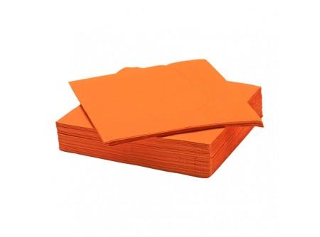 SI-406456/cs - KIFUTÓ Szalvéta, NARANCS, 2rétegű, 33x33cm, 50lap - - kétrétegű, narancs - alapanyag: cellulóz