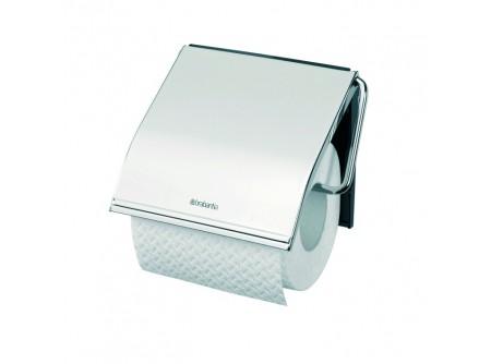 T7P - Háztartási toalettpapír tartó, fém/műanyag, polírozott - – egy tekercses, polírozottkivitel – esztétikus, otthoni/hotel használatra
