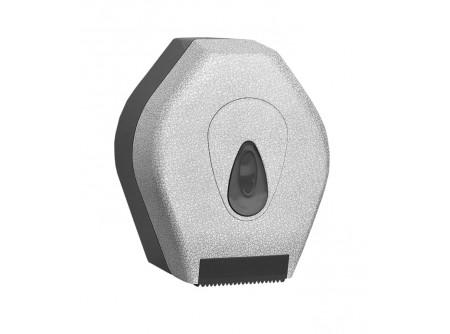 BUH217 - UNIQUE GLAMOUR WHITE LINE / MATT toalettpapír tartó, mini - - egyedi design -maximális papírátmérő: 19cm - speciális rendszerkulccsal zárható  - törésálló ABS műanyagból készült     MERIDA UNIQUEline