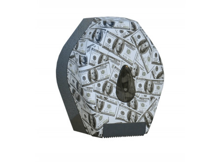 BUH263 - UNIQUE LAS VEGAS LINE / FÉNYES toalettpapír tartó, mini - - egyedi design -maximális papírátmérő: 19cm - speciális rendszerkulccsal zárható  - törésálló ABS műanyagból készült     MERIDA UNIQUEline