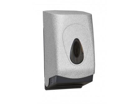 BUH417 - UNIQUE GLAMOUR WHITE LINE / MATT hajtogatot toalettpapír adagoló - - egyedi design -űrtartalom: 400 lap - speciális rendszerkulccsal zárható  - törésálló ABS műanyagból készült     MERIDA UNIQUEline