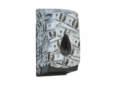 BUH463 - UNIQUE LAS VEGAS LINE / FÉNYES hajtogatott toalettpapír adagoló - - egyedi design -űrtartalom: 400 lap - speciális rendszerkulccsal zárható  - törésálló ABS műanyagból készült      MERIDA UNIQUEline