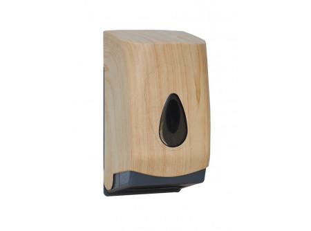 BUH475 - UNIQUE SCANDINAVIAN LINE / FÉNYES hajtogatott toalettpapír adagoló - - egyedi design -űrtartalom: 400 lap - speciális rendszerkulccsal zárható  - törésálló ABS műanyagból készült       MERIDA UNIQUEline