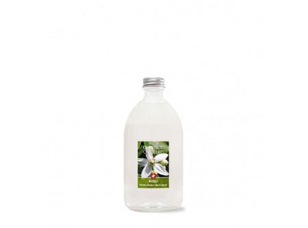 CD003/3 - Illatanyag NEROLI 500ml - A természetes alapanyagokból készült esszencia illat kompozíciót teremt az otthonokban és munkahelyeken.  A pálcák számával szabályható az illatintenzitás.  A készítmény szintetikus emulgeálószerektől, tartósítószerektől és festékektől mentes.  Narancsvirágból készült, kíméletes, elegáns illat, melyet jázmin és egzotikus illatok fűszereznek.