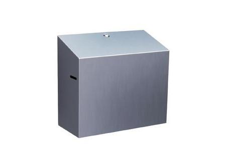 CSM401 - KIFUTÓ  Rolnis papírtörölköző tartó, automata, rozsdamentes SZÁLCSISZOLT,  mini - Régi cikkszám: 03-CSM401