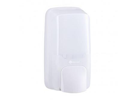 DHB201 - MERIDA HOLD, Habszappan adagoló, ABS műanyag, FEHÉR/ÁTLÁTSZÓ, patronos kivitel - - egyszer használatos, cserélhető patronhoz való adagoló - szappan adagolása rendkívül könnyű hab formában nyomógomb segítségével történik - kulccsal nyitható, törésálló műanyagból készült