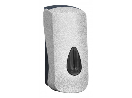 DUH267 - UNIQUE GLAMOUR WHITE LINE / FÉNYES habszappan adagoló, patronos kivitel, ABS műanyag - - egyedi design - utántöltése SBP, SBL és SBS patronnal - speciális rendszerkulccsal zárható  - törésálló ABS műanyagból készült     MERIDA UNIQUEline