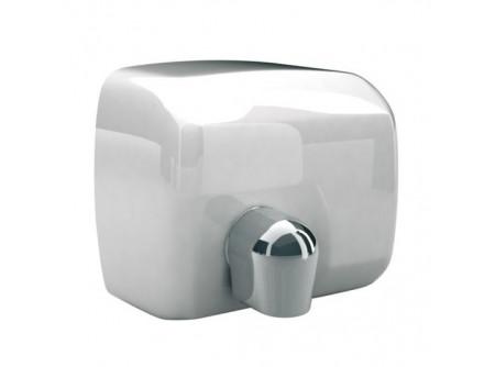 E88AP - SANIFLOW kézszárító, fém, fehér, 2250W - - teljesítmény: 2250W  - behatolás elleni védelem: IP23  - levegő hőmérséklet: 53 °C  - szárítási idő: 29 s  - infravezérlés, automatikus be-és kikapcsolás  - 2 mm. vastag acélház  - állítható levegőáramlás a forgatható könyökkel  - fehér kivitel