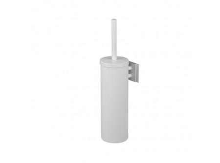 GIB351 - Toalettkefe, fali, fém, fehér - - fém, fehér szinterezett kivitel - higiénikus, zárt kivitel - műanyag bevonat a tartály alján