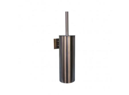 GIM351 - Toalettkefe, fali, rozsdamentes, szálcsiszolt - - fém, szálcsiszolt kivitel - higiénikus, zárt kivitel - műanyag csepegtető tartály