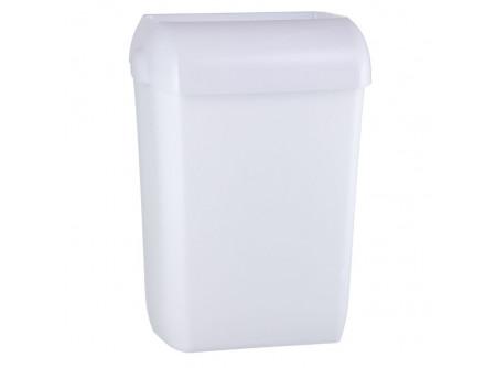KHB101 - MERIDA HOLD Hulladékgyűjtő, 23L, álló/fali. ABS műanyag, nyitott - - egyszer használatos hulladékgyűjtő zsákokhoz alkalmas - szabadon álló vagy falra szerelt kivitel - törésálló műanyagból készült