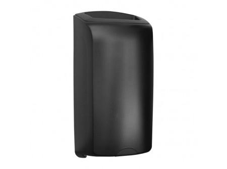 KUH171 - UNIQUE EXCLUSIVE CARBON LINE / FÉNYES 40L-es fali hulladékgyűjtő - - egyedi design - törésálló ABS műanyag - fali szerelésű - levehető burkolat - reteszbiztosítású zárás - belső zsáktartó keret   MERIDA UNIQUEline