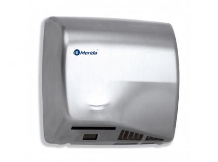 M06S - SPEEDFLOW kézszárító, rozsdamentes, szálcsiszolt, 1150W - - teljesítmény: 1150 W - behatolás elleni védelem: IP23 - levegő hőmérséklet: 42 °C - szárítási idő: 10 s - infravezérlés, automatikus be-és kikapcsolás - 1,5 mm vastag acélház - rozsdamentes, szálcsiszoltváltozat