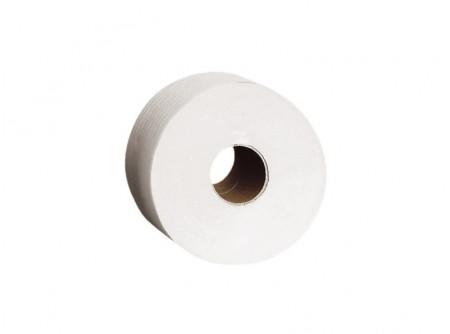 PPB101 - Toalettpapír midi, fehér, 3rétegű, cellulóz, 200m, 6 tekercs - - fehér, 3 rétegű, 100% cellulóz, 3x16,5g/m2