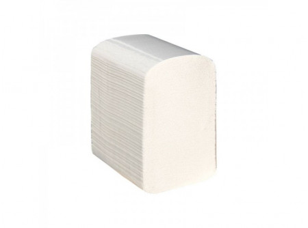 PPB401 - Hajtogatott toalettpapír, 3rétegű, cellulóz, 4800lap - -fehér, 3 rétegű, 100% cellulóz, 3x17g/m2
