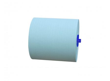 RAZ301 - Rolnis kéztörlő papír, maxi, zöld, 1rétegű, 250m, 6tekercs, automata adagolóba - - zöld, 1 rétegű, 42g/m2, 20cm hengermagasság, tekercshossz 250m - gazdaságos, alacsony üzemeltetési költség - alapanyag: recycled
