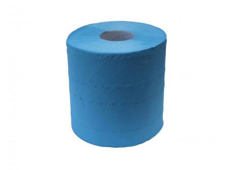 RTN701 - Belsőmag adagolású rolnis kéztörlő, maxi, kék, öko-cellulóz, 2rétegű, 158m, 6tekercs - - kék, 2 rétegű, 100% öko-cellulóz (vegyileg nem fehérített)  2x19g/m2 - Nagyon puha és nedvszívó. A termék élelmiszeriparban, konyhákban,  élelmiszer előkészítő területre (HoReCa) ajánlott. - A Food Contact követelményeknek megfelel száraz és nedves  élelmiszerrel egyaránt. Dermatológiailag tesztelt. - PEFC Ökológiai tanusítvánnyal rendelkezik