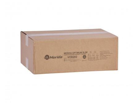 """VOB202 - Hajtogatott SLIM kéztörlő, fehér, 1rétegű, ´Z´ hajtogatású, 4200lap, keskeny adagolóba - - fehér, 1 rétegű, """"Z"""" hajtogatás - alapanyag: recycled - 32g/m2"""