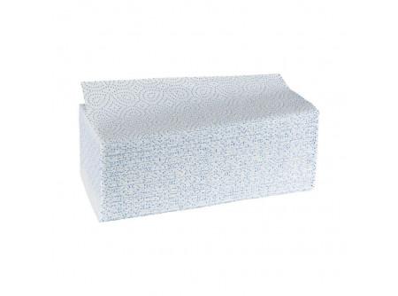 """VPB015 - Hajtogatott kéztörlő, fehér, 2rétegű, cellulóz, ´V´ hajtogatású, 3200lap - - kétrétegű, fehér, """"V"""" hajtogatás - cellulóz alapanyag"""