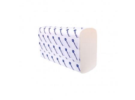 """VTB201 - Hajtogatott kéztörlő, fehér, 2rétegű, cellulóz, ´Z´ hajtogatású, 4200lap, keskeny adagolóba - - kétrétegű, fehér, """"Z"""" hajtogatás - alapanyag: cellulóz"""