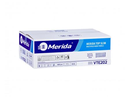 VTE202 - Hajtogatott SLIM kéztörlő, fehér, 2rétegű, cellulóz, ´Z´ hajtogatású, 3000lap, keskeny adagolóba - - fehér, 2rétegű, 100% öko-cellulóz, ´V´ hajtogatású - 2x16,5g/m2 - PEFC ökológiai tanúsítvány - Food contact (Száraz és nedves élelmiszerekhez) - Dermatológiailag tesztelt