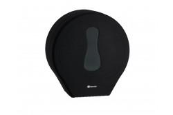 MERIDA AMADEUS, toalettpapír adagoló midi, ABS műanyag, SILKY BLACK  BAC101