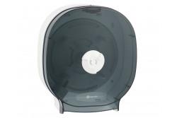 MERIDA ONE Toalaettpapír tartó, négytekercses, csak belsőmag nélküli papírhoz, FEHÉR/FEKETE  BEB302