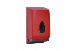 UNIQUE RED LINE / MATT toalettpapír tartó, hajtogatott papírhoz  BUR401  UNIQUE RED LINE / MATT toalettpapír tartó, hajtogatott papírhoz