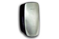 KIFUTÓ Automata szappanadagoló, szürke ABS műanyag, fém dekor előlap, infra érzékelővel  MERCI  Régi cikkszám: 21-MERCI