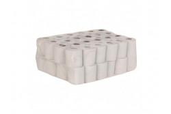 Háztartási toalettpapír, natúr, 1rétegű, 50m, 435lap, 32tekercs  PKB503