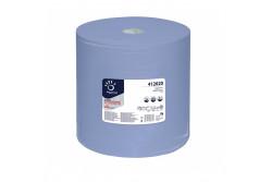 Ipari törlőkendő, kék, 3rétegű, 360m, 1000lap  YWI-412020R
