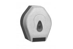 UNIQUE GLAMOUR WHITE LINE / MATT toalettpapír tartó, mini  BUH217