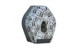 UNIQUE LAS VEGAS LINE / FÉNYES toalettpapír tartó, mini  BUH263