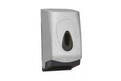 UNIQUE GLAMOUR WHITE LINE / FÉNYES hajtogatott toalettpapír adagoló  BUH467