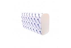 Hajtogatott kéztörlő, fehér, 2rétegű, cellulóz, ´Z´ hajtogatású, 4200lap, keskeny adagolóba  VTB201